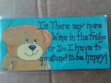 ? hay algo más vino-gracioso.. en la nevera fridge magnet