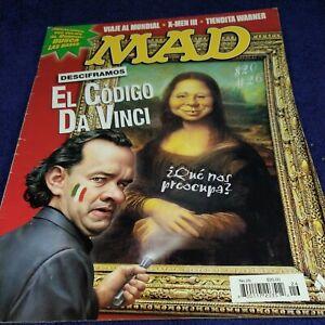 MAD EN ESPAÑOL, MAGAZINE MEXICAN EDITION, June 2006 MINA EL CODIGO DA VINCI