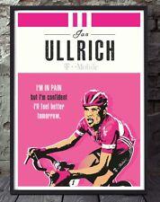 Jan Ullrich Tour De France Ciclismo Ciclismo impresión sin enmarcar a4