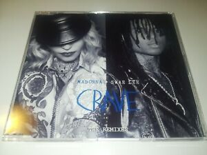 Madonna Swae Lee crave promo  remixes 15 tracks Dj Cd maxi Single