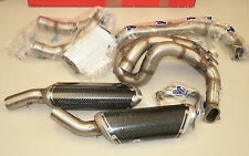 Scarico completo Racing Carbonio Ducati 1198