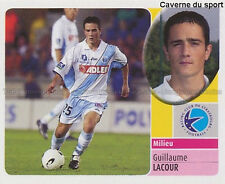 GUILLAUME LACOUR # RC.STRASBOURG VIGNETTE STICKER  PANINI FOOT 2003