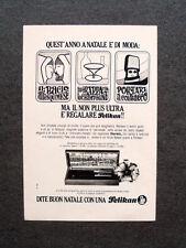 [GCG] M729 - Advertising Pubblicità - 1967 - BUON NATALE CON UNA PELIKAN