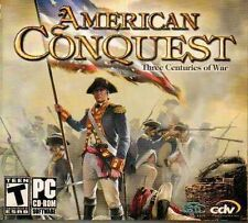 American Conquest Three Centuries of War PC CD-ROM Software Game World/CDV