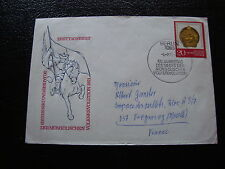 ALLEMAGNE RDA lettre 6/7/71  - timbre stamp germany (cy1)