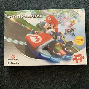 *New Sealed* Nintendo Mario Kart Jigsaw Puzzle - 1000 Pieces