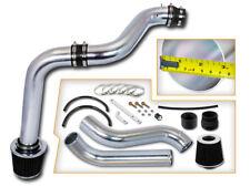 BCP BLACK 92-96 Honda Prelude 2.2L/2.3L L4 Cold Air Intake Racing Kit +Filter