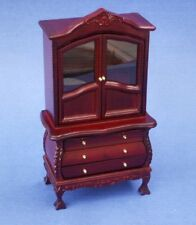 Miniature Dollhouse Victorian Cupboard 1:12 Scale New
