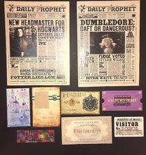 Slytherin Christmas Stocking Stuffer Daily Prophets, Tickets Harry Potter Custom