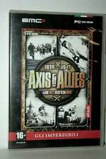 AXIS AND ALLIES 1939 WWII 1945 USATO BUONO PC CDROM VERSIONE ITALIANA FR1 43295