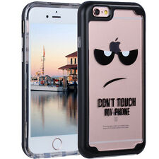 Full Body Protective 360° Shockproof Case Hard Slim Cover iPhone X 6 6s 7 8 Plus for iPhone 6 Black #1