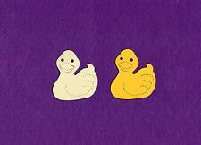 RUBBER DUCKY  die cuts scrapbook cards