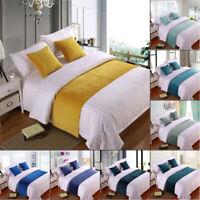 Luxury Velvet Bed Runner Scarf/Bed Tail Towel Home Hotel Bedroom Bedding Decor