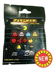 Pac Man & Ghosts Enamel Lapel Pin Blind Bag Liimtd Edition Retro Video Games