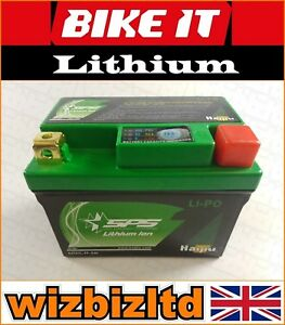 Lithium Ion Motorcycle Battery Suzuki (CC: 125) VL125 (Year: Upto 2002) LIPO07B