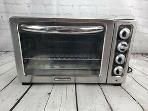"""KitchenAid KCO234CCU 12"""" Convection Countertop Oven, Contour Silver"""