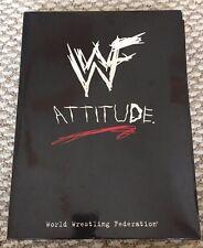 WWF Media Press Kit Attitude Era w/ VHS Tape WWE Press Clips Come Get Some