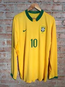 Brazil 2006 Nike Matchworn Number 10 Kaka Longsleeve