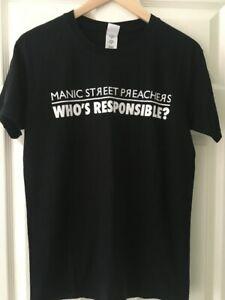 Manic Street Preachers Holy Bible Anniversary Tour T-Shirt - Size M