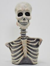 "Katherine's Collection Halloween 18"" Frida Love Glitter Skeleton Bust Display"