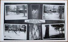 Merrillan, WI 1953 Postcard: Gil's Resort - Black River Falls- Wisconsin Fishing