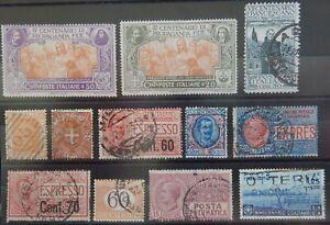 Italien Lot mit alten Werten XIX