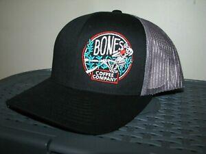 Men's BONES COFFEE COMPANY Baseball Trucker Cap/ Hat (PACIFIC HEADWEAR)