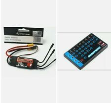 Hobbywing Skywalker 2-3s 40a UBEC Brushless ESC with 5v/3a BEC+program card