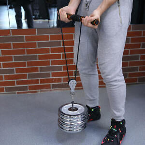 NEW 300KG Fitness Strength Training Accessories Bearing Lifting Pulley Silent Wh