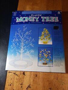 "12"" Plastic Money Tree Clear"