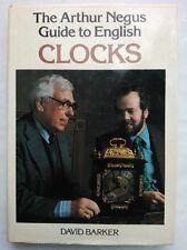 David Barker.The Arthur Negus Guide To English Clocks.1St/1 1980,H/B D/J Photos