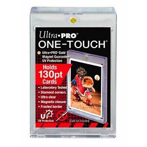 Ultra Pro 130PT One-Touch Magnetic Trading Card Holder - Yugioh, Pokemon, MTG