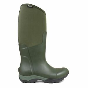 Bogs Womens Wellies Essential Light Tall Solid Wellington Boot Olive