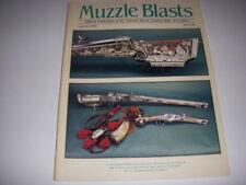 MUZZLE BLASTS Magazine, September, 2002, EARLY IOWA GUNSMITHS, WOODWORKING TOOLS