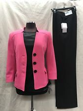 """KASPER PANT SUIT/NEW WITH TAG/SIZE 12/RETAIL$240/TANK IS NOT INCLUDED/INSEAM 32"""""""