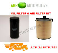 BIO PETROL SERVICE KIT OIL AIR FILTER FOR AUDI A3 SPORTBACK 1.6 102 BHP 2010-13