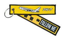 Follow Me Boeing 767 Schlüsselanhänger