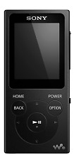 Sony NW-E394 Walkman MP3 Player mit FM Radio, 8 GB-Schwarz