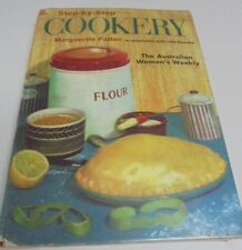 StepbyStep Cookery For Australian Womens Weekly Vintage Cook Book M Pattern 1964