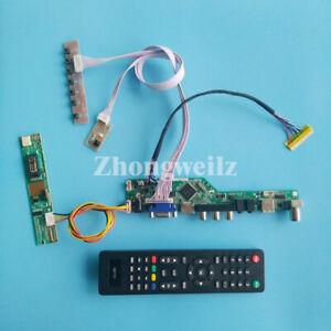 TV controller board kit for B150PG03 V0 B150PG04 V1 30Pin LVDS 1CCFL screen