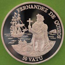 VANUATU 50 VATU 1992 ARGENT