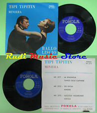 LP 45 7'' SERGIO GAMBERINI Tipi tipitin Miniera 1974 italy FONOLA no cd mc dvd
