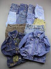 Girl's 12 Piece Lot Jeans Shorts Skirts Jacket Gap Wrangler Old Navy Size 5
