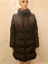 MONTCLER BROWN RENNE DOWN COAT SIZE M WITH REMOVABLE HOOD