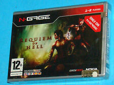 Requiem of Hell - Nokia N-Gage NGage - PAL New Nuovo Sealed