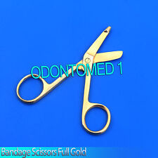 Golden Bandage Scissor Nurse EMS Surgical Instrument 5.5""