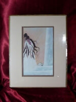 "NEW/SEALED Native American ART PRINT by WILLIAM ""BILL"" RABBIT Cherokee Ancestry"