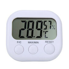 LCD Digital Stand Indoor Thermometer Hygrometer Temperature Humidity Meter Gauge