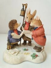 Figurine Villeroy & Boch Foxwood Tales Winter Carol Singers Heavenly Voices n13