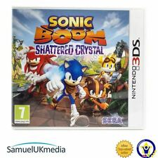 Sonic Boom: Shattered Crystal (Nintendo 3DS) **GREAT CONDITION**